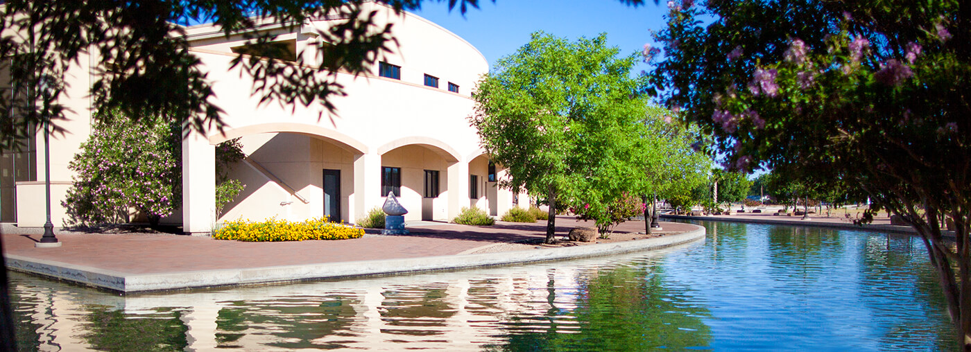 A photo of NCKRI's headquarters in Carlsbad, NM where they conduct research and promote education on cave and karst.
