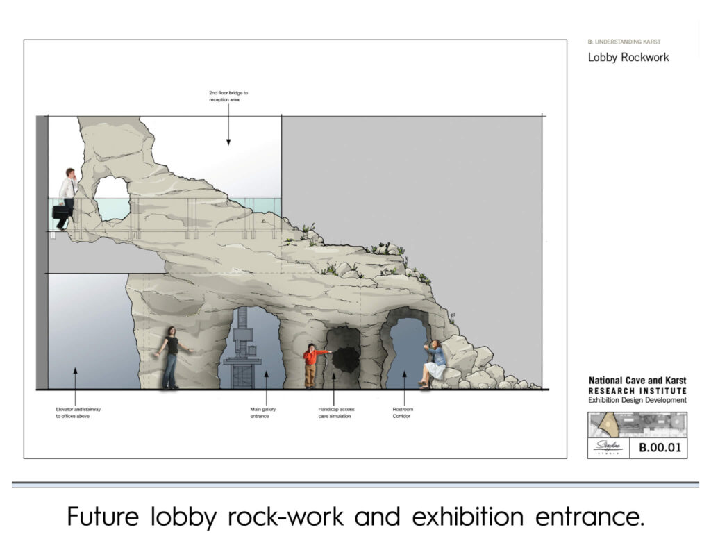 Cave Discovery Zone: Future Lobby