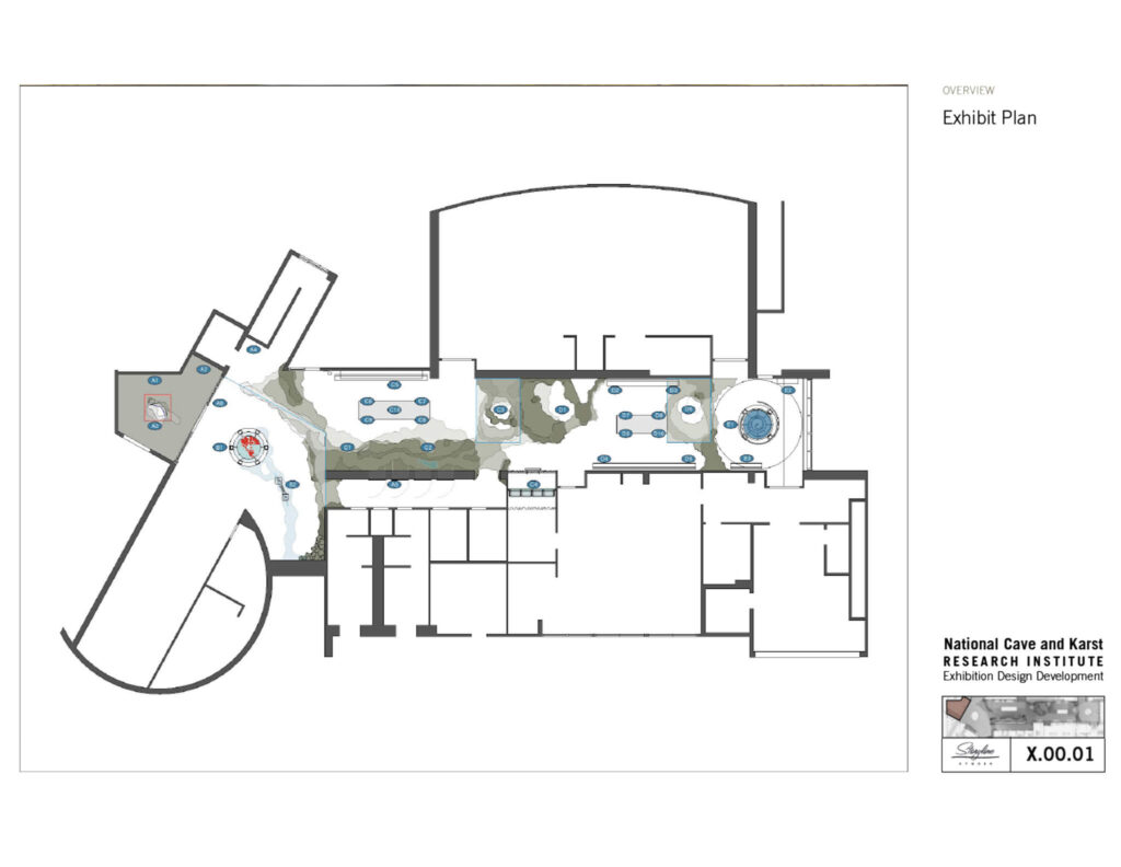 Cave Discovery Zone: Overview of Exhibit Plan