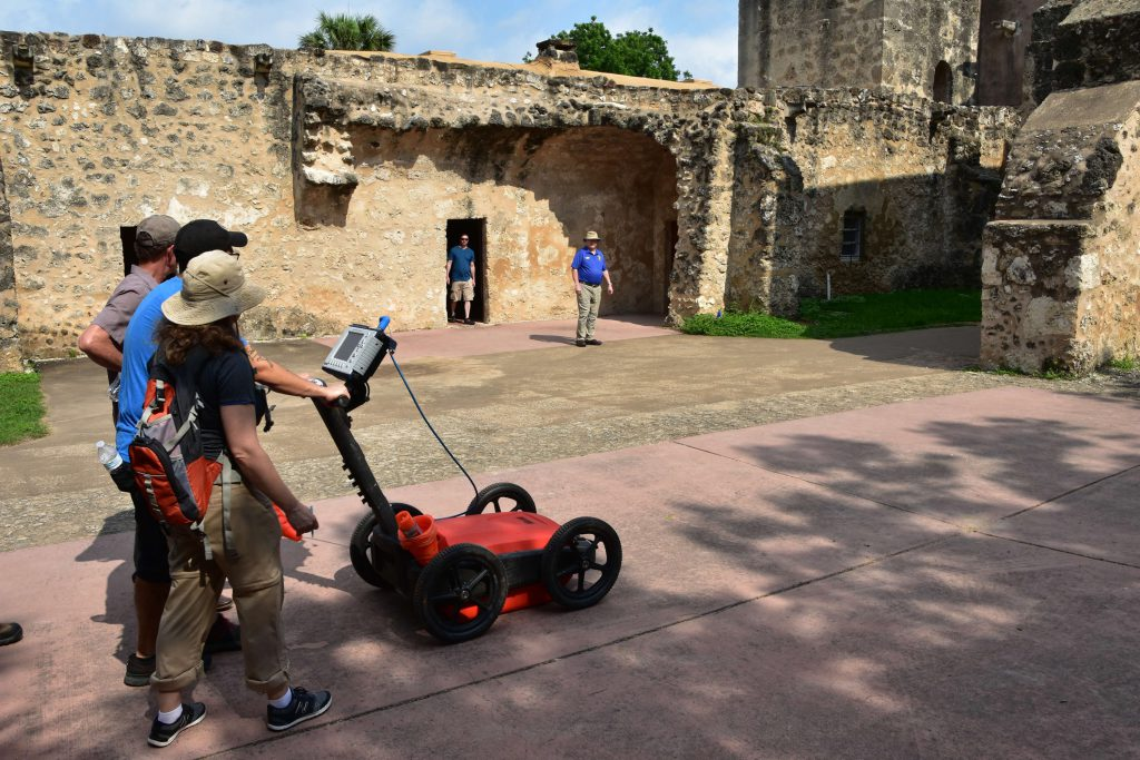 A newly found tufa that is barely karstified may make the San Antonio Missions National Park a newly discovered karst area.